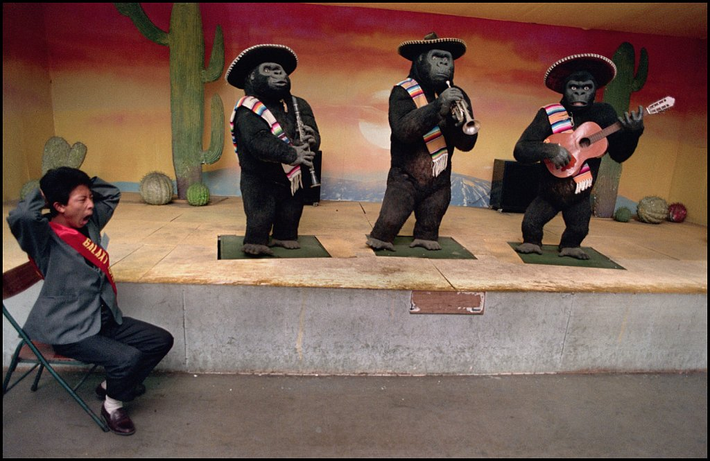 'Mechanical Mariachi Monkeys' Bejing, China 1992